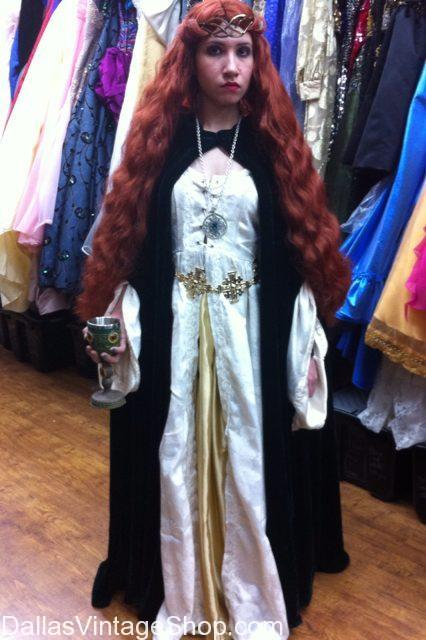 Celtic Renaissance Queen of May Costume, Renaissance Celtic ladies Costumes, Celtic Costumes, Renaissance Ladies Attire, Celtic Renaissance Fair Costume Ideas