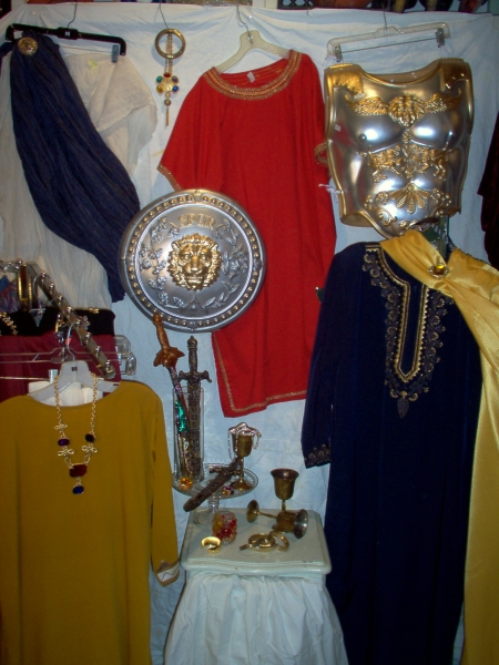 roman clothing and costumes