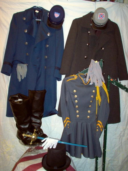Civil War Historical Period Costumes Dallas, DFW Civil War Soldier Costumes and Accessories, Civil War Mens Costumes & Accessories Dallas, Historical Characters Costumes Dallas Area, civil war clothes