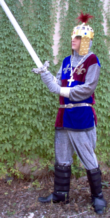 Monty Python Crusader Costume, Monty Python and The Holy Grails Priest, Monty Python Costume, Monty Python Costume Dallas, Monty Python Holy Grail Costume Dallas, Monty Python Holy Grail Costume, Holy Grail Costume, Crusader Holy Grail Costume, Crusader Holy Grail Costume Dallas,
