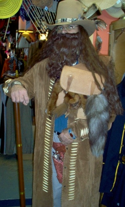 frontiersman, Frontiersman, Frontiersman Dallas, Frontiersman Costume, Frontiersman Costume Dallas, Woodsman, Woodsman Dallas, Woodsman Costume, Woodsman Costume Dallas, Long Fringe Coat, Long Fringe Coat Dallas,