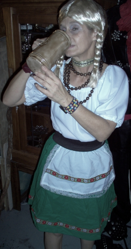 German bar maid