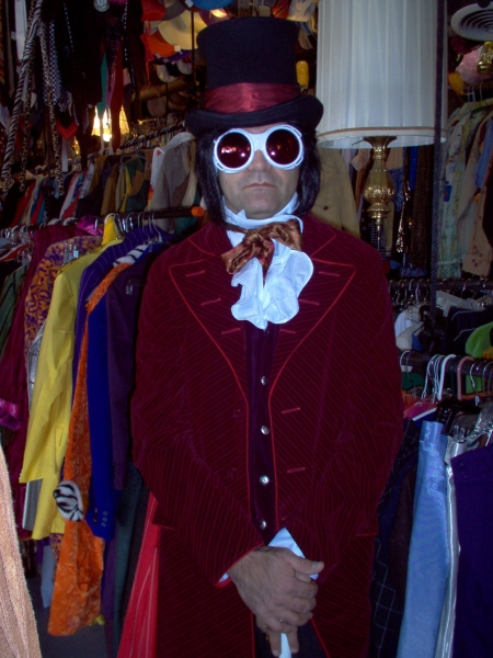 Willy Wonka costume, Johnny Depp Willy Wonka Costume, Johnny Depp Willy Wonka Costume Dallas,