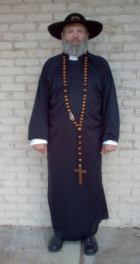 padre, Clerical, Clerical Dallas, Clerical Costume, Clerical Costume Dallas, Clerical Robe, Clerical Robe Dallas, Clerical Headpeice, Clerical Headpiece Dallas, Rabbi Costume, Rabbie Costume Dallas, Rabbi Robe, Rabbi Robe Dallas, Priest Costume, Priest Costume Dallas, Priest Robe, Priest Robe Dallas,