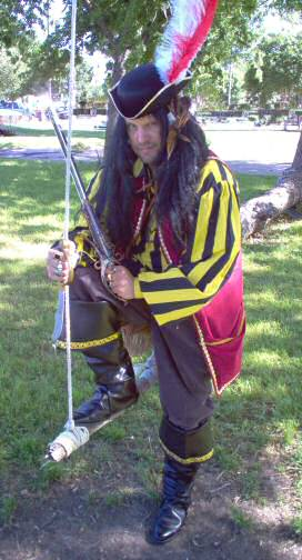 Pirate costume-Bartholomew roberts
