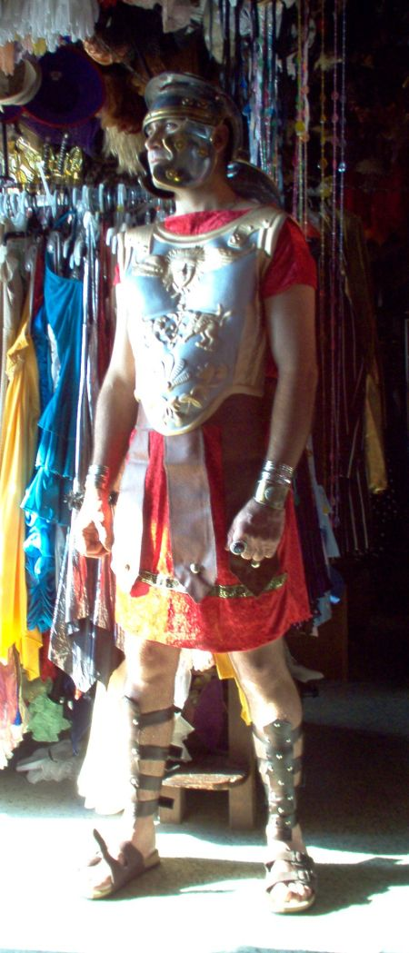 Roman Centurion Costume, Jarius roman centurian with faith in jesus biblical