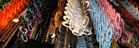 70's Chain Belts and Accessories, Costume Accessories Dallas, Dallas costume shops accessories, DFW Costumes Accessory Shops,