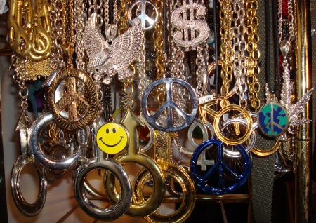 1970′s Chain Necklaces, 60s 70s Peace Neclaces, Disco Mens Jewelery, Hippie Jewelery, Go Go Girl Jewelery, Male Symbol Neclaces,, Dallas 70′ Chain Necklaces, DFW Disco Necklaces and Jewelery, Dallas area gold or silver peace neclaces, Dallas area gold or silver 70s  male symbol neclaces, 70s Disco Neclaces Dallas, Hippie Peace Sign Neclaces DFW, Marijuana leaf 70s Neclaces,  Hippie and Disco style necklaces and Jewelery