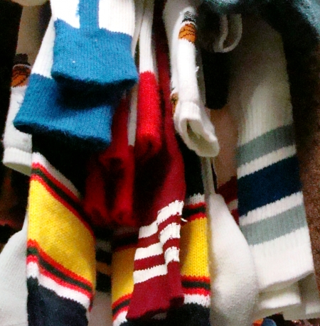 Tube Socks, Striped Crew Socks. Richard Simmons would love these!