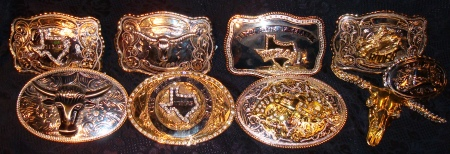 Texas Rich Texas Buckles