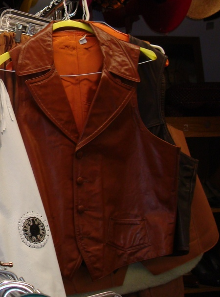Vintage Western Leather Vests