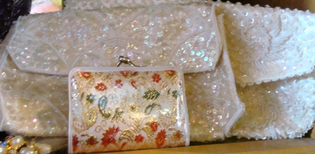 White Purses, Sequin Purses, Clutch Purses