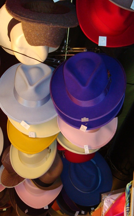 1920's Mens Hats, Derbies, Fedoras, Godfathers etc.