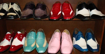 Zoot Suit Shoes, zoot suit shoes for sale in dallas, mens two tone shoes, mens exotic fashion shoes,