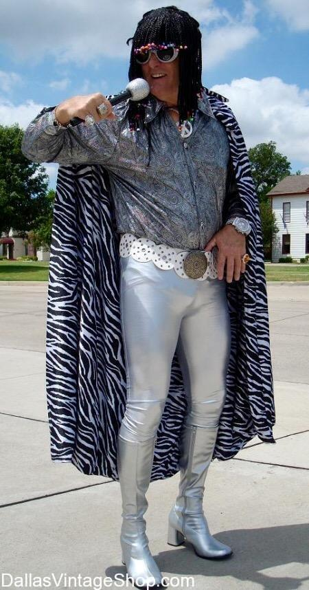 Get this Motown 'Super Freak' Rick James Costume and other 80's Motown Musicians Outfits here.Dallas Vintage Shop has Motown 'Super Freak' Rick James Costume, 80's Motown Musicians Costumes, Motown Artist, Motown Artist Costumes, Motown Theme Party Costume ideas, Famous Motown Male Artist Attire, Motown Fashions, Motown Characters, Motown Culture Attire, Motown Costumes & Accessories in stock.