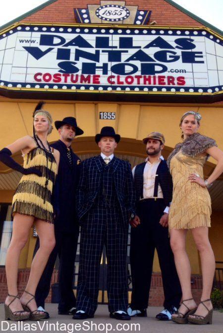 Dallas Vintage Shop has true pedigree vintage attire in stock.