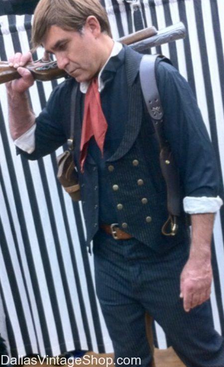 Booker DeWitt BioShock Cosplay Costume, BioShock Video Game Costume Ideas, BioShock Costumes Dallas, BioShock DeWitt Costume Dallas, Booker DeWitt Costume
