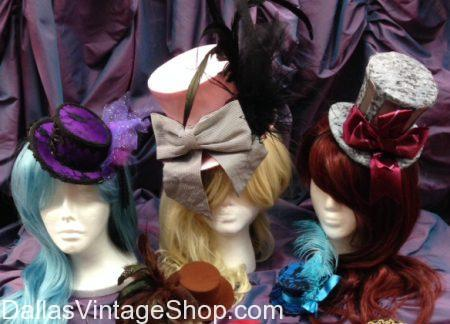 Ladies Steampunk Mini Top Hats, Ladies Steampunk Accessories, Ladies Mini Mad Hatter Top Hats, Ladies Steampunk Fashion Mini Hats & Accessories, Ladies Steampunk Mini Top Hats Dallas, Ladies Steampunk Accessories Dallas, Ladies Mini Mad Hatter Top Hats Dallas, Ladies Steampunk Fashion Mini Hats & Accessories Dallas, Ladies Steampunk Mini Top Hats DFW, Ladies Steampunk Accessories DFW, Ladies Mini Mad Hatter Top Hats DFW, Ladies Steampunk Fashion Mini Hats & Accessories DFW