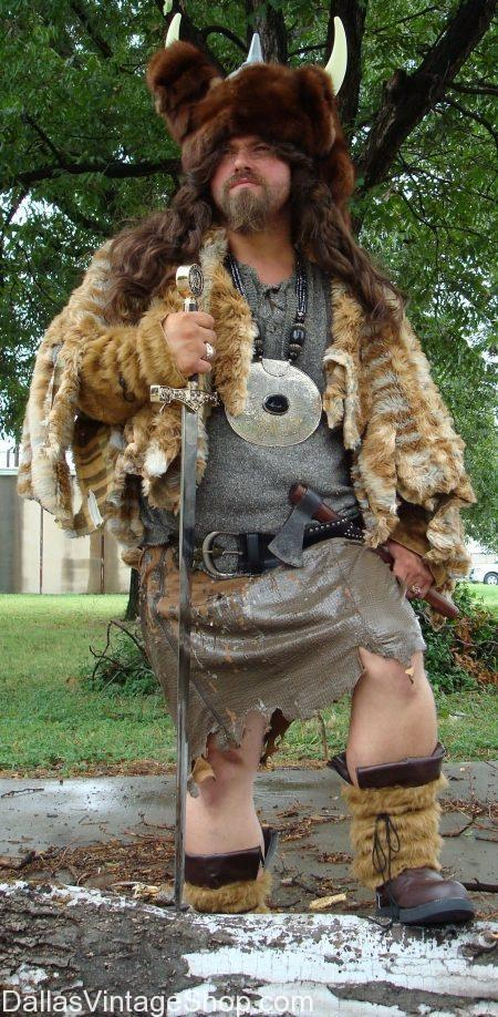 Dallas Vintage Shop has Texas Renaissance Festival Period Attire, Barbarian Complete Outfits, Medieval & Renaissance Warriors & Vikings Quality Garb.