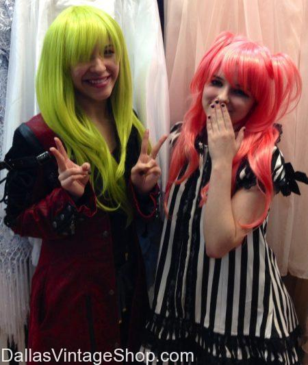 Anime Wigs Anime Costumes, A-KON Anime Expo