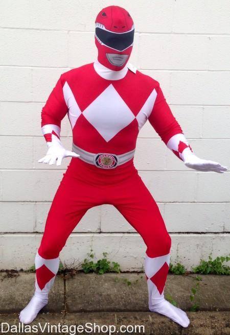 Project A-KON, Power Rangers Red Ranger Morph Suit