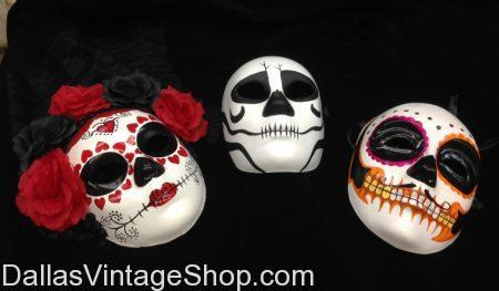 We have Day of the Dead Costume Accessories & Masks, Decorative Masks Day of the Dead,, Dia de los Muertos Sugar Skull Masks, Day of the Dead Skull Masks, Day of the Dead, Quality Day of the Dead Costumes, Day of the Dead Costume Accessories, Day of the Dead Bride Accessories, Day of the Dead Decorative Masks, Day of the Dead Men's Masks, Day of the Dead Ladies Masks in stock.