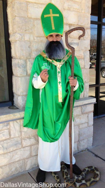 We have St. Patrick Traditional Outfit and St. Patrick's Day Costume Ideas. Dallas best collection of st patrick's day costume ideas, roman catholic St. Patrick Bishop Costume, clergy St Patrick Attire, Irish St. Patrick costume, St. Patrick Irish Bishop Traditional Outfit, St. Patrick's Day Costume Ideas, St. Patty's Parade Costumes, St. Patrick's Celebration Attire and Accessories.