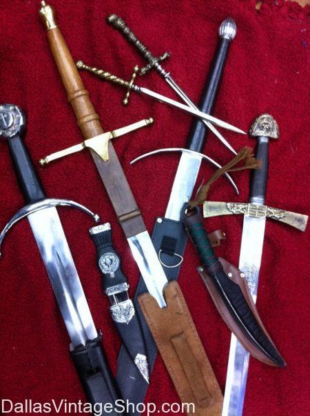 High Quality Prop Swords, Replica Renaissance Weapons, Knives