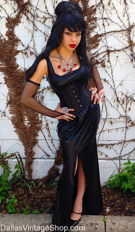 oct 29 2016 gothic halloween witch elvira costumes wigs corsets dresses jewelry find stunning halloween costumes accessories at dallas - Stunning Halloween Costumes