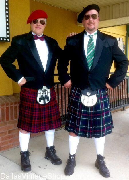 Mens Quality And Economy Kilts For Formal Attire Highlander Scottish Outfits Kilt Costumes