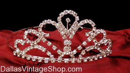 Simple Jeweled Ladies' Prom, Homecoming, Wedding, Party Tiara