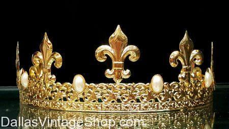 Crowns Dallas, Where to Buy Crowns in Dallas, King Costumes Dallas, Queen Costumes Dallas, High Quality Metal Crowns Dallas, Fleur-de-lis Accessories DFW, Texas Costume Stores, Men's Costume Crowns Dallas, DFW Costume Shops, Dallas Costume Shops, 2017, Crowns, Royalty Accessories, King Costumes, Queen Costumes, French Style Crowns Dallas,