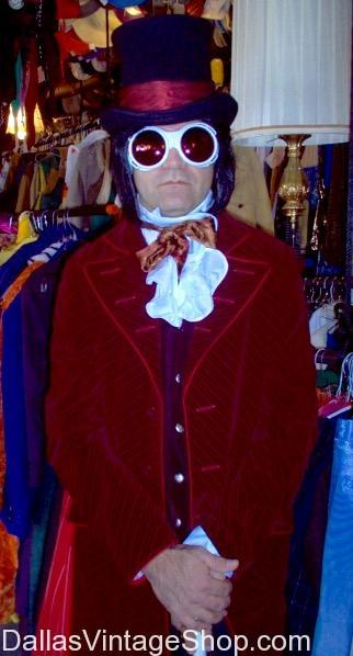 Johnny Depp Willy Wonka Character Costume Hollywood Movie Character Costumes DFW Best Costume  sc 1 st  Dallas Vintage Shop & Johnny Depp Willy Wonka Costume | Dallas Vintage and Costume Shop