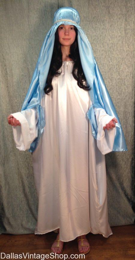 We have this Beautiful Christmas Virgin Mary Costume in stock. We also have Christmas Nativity Virgin Mary Costume, Christmas Pageant Virgin Mary Costume, Christmas Virgin Mary Bible Character Costume, Christmas Story Costumes, Christmas Theatrical Costumes, Mary Mother of Jesus Costume, The Virgin Mary, Christmas Story Mary Costume, Quality Virgin Mary Costume, Child Virgin Mary Costume, Adult Virgin Mary Costumes and Accessories.