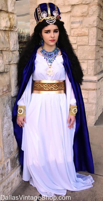 Queen Esther Purim Costume Ideas