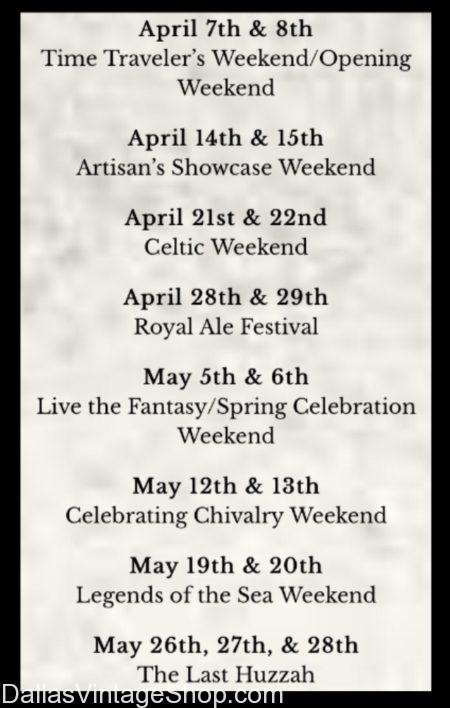 2018 Scarborough Renaissance Festival: Themed Weekend Scheduled Dates, We have 2018 Scarborough Renaissance Festival Info, We have Themed Weekend Scheduled Dates Info, We have Scarborough Renaissance Festival Weekend By Weekend Dates Info, We have Apr. SRF Weekends Info, We have SRF Weekend Apr. 7-8 Time Travelers Info, We have SRF Weekend Info, We have SRF Weekend Info, We have SRF Weekend Apr. 14-15 Artisan's Showcase Info, We have SRF Weekend Apr. 21-22 Celtic; SRF Weekend Apr. 28-29 Royal Ale Festival Info, We have SRF Weekend May 5-6 Live the Fantasy Info, We have SRF Weekend May 12-13 Celebrate Chivalry Info, We have SRF Weekend May 19-20 Legends of the Sea Info, We have SRF Weekend May 26-28 Last Huzzah Info, We have SRF Weekend Schedule Info, We have SRF Weekends Info, We have SRF Weekend Tickets Info, We have SRF Weekend Dates & Times Info, We have SRF Weekends Waxahachie Info, We have SRF Weekend Events DFW Info,