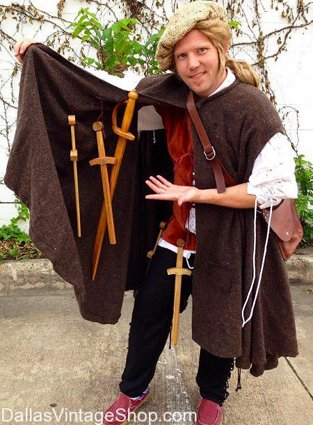 Men's Vendor & Merchant Renaissance Costume Ideas, Renaissance & Medieval Theatrical-Quality Costumes, Scarborough Renaissance Festival: Artisan's Showcase Weekend, April 14-15 2018, Waxahachie TX, Event Info, Maps, Tickets, Links