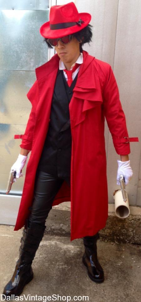 Dallas Events: A-kon Anime Convention: Alucard Hellsing A-kon Costume, DFW A-kon Costume INfo, Dallas Area Anime Convention Details & Costumes