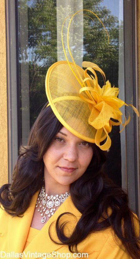 25f8cf68853fe Gorgeous ROYAL WEDDING HATS in our METROPLEX Hat Shop