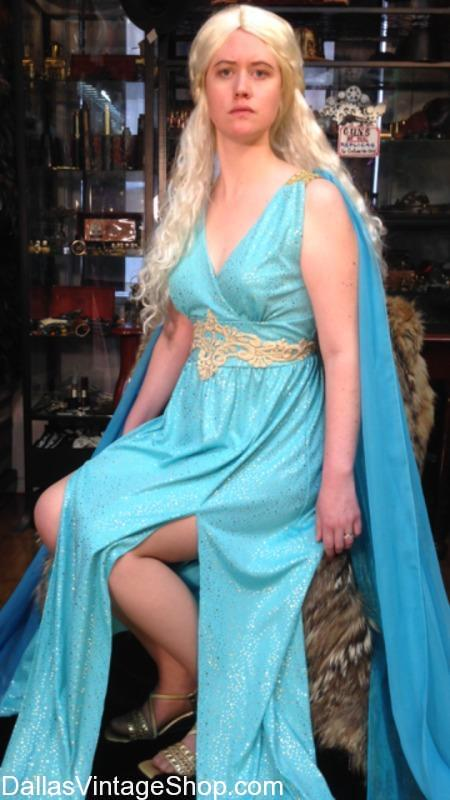 Con of Thrones GOT Costume Images, Con of Thrones GOT Costume Shops, Con of Thrones GOT Fantasy Attire, Con of Thrones GOT Characters Costumes, Con of Thrones GOT, Con of Thrones GOT Daenerys Targaryen Outfit, Con of Thrones GOT, Con of Thrones GOT Daenerys Targaryen blue dress Outfit, Photos of Con of Thrones GOT, Costumes from Con of Thrones GOT, Visitors to Con of Thrones GOT, CON of THRONES 2018@Dallas Hyatt Regency: Daenerys Targaryen Warrior Costume