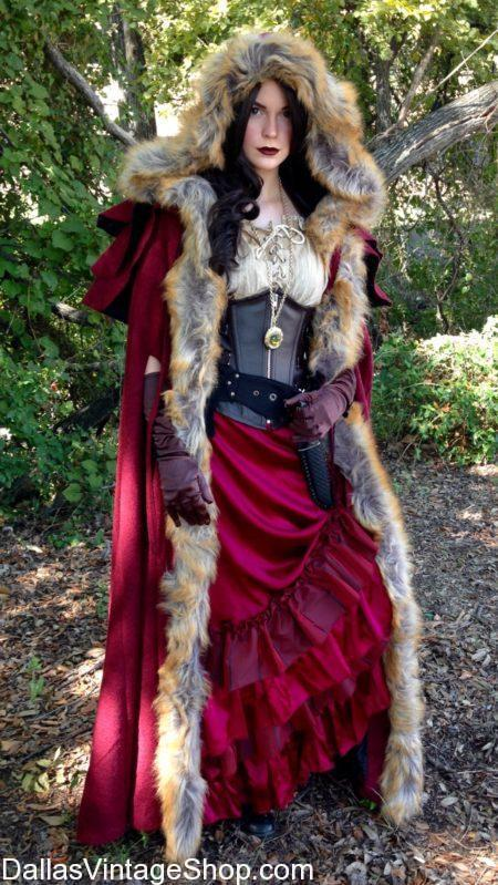 Once Upon A Time Character, Red Riding Hood Costume, OUAT ABC TV Series Supreme Costumes