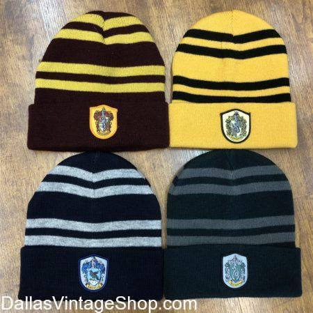Harry Potter, Gryffindor, Hufflepuff, Ravenclaw, and Slytherin Harry Potter Hats