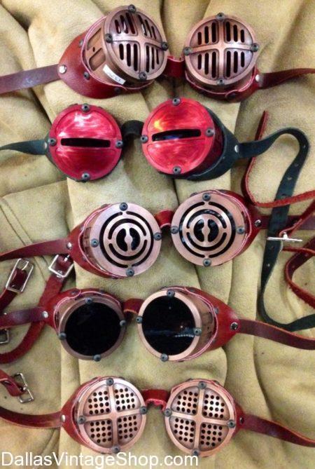 Burning Man Goggles; Steampunk, Cyberpunk, Burning Man Festival Accessories, gothic goggles