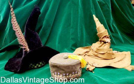 Prof McGonagall, Albus Dumbledore, Harry Potter Sorting Hat, Harry Potter Character Hats