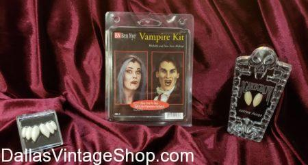 We have Vampire Costume Fangs & Makeup, Vampire Teeth, Vampire Blood, Vampire Fang Kits, Vampire Makeup Kits, Costume Blood, Costume Ben Nye Vampire Makeup, Mehron Vampire Makeup, Graftobian Vampire Makeup, Vampire Accessories, Vampire Costume Accessories.