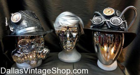 Burning Man Special Chrome Look Face Mask, No Face Mask, Chrome Mask, Burning Man, Rave wear, Festival Costumes