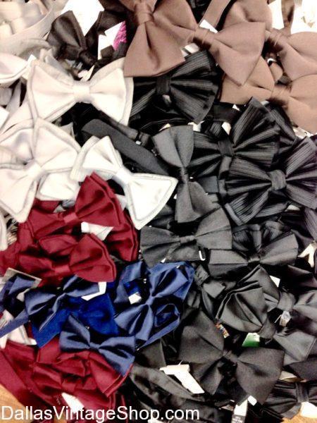 We stock 1920's Bow Ties, Men's Black Tie Vintage Tuxedo Bow Ties, Men's Fancy 1920's Attire Bow Ties. We have Men's Solid Colors 1920's Bow Ties, Men's Vintage 20's Bow Ties, We have  Men's Period Bow Ties, Men's Historical Attire Bow Ties, 20s Bow Ties, 1920's Men's Attire
