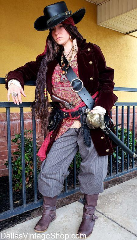 Pirate Lady Anne Bonny,, We have Mary Read, Ann Bonny, Female Pirate Costumes, Women Pirates Movie Pirates, Colonial Pirate Women's Attire