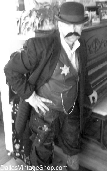 old west dusters, old west sheriff, old west hats, old west boots, Old West Sheriff Costumes