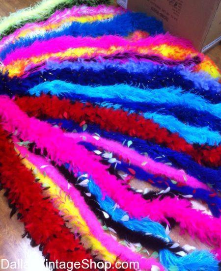Dragons Halloween Ball, Bright Colored Boas, Boas Dallas, Fancy Boas Dallas area, Buy Fancy Boas Dallas, Quality Boas Dallas area, DFW feather boas,